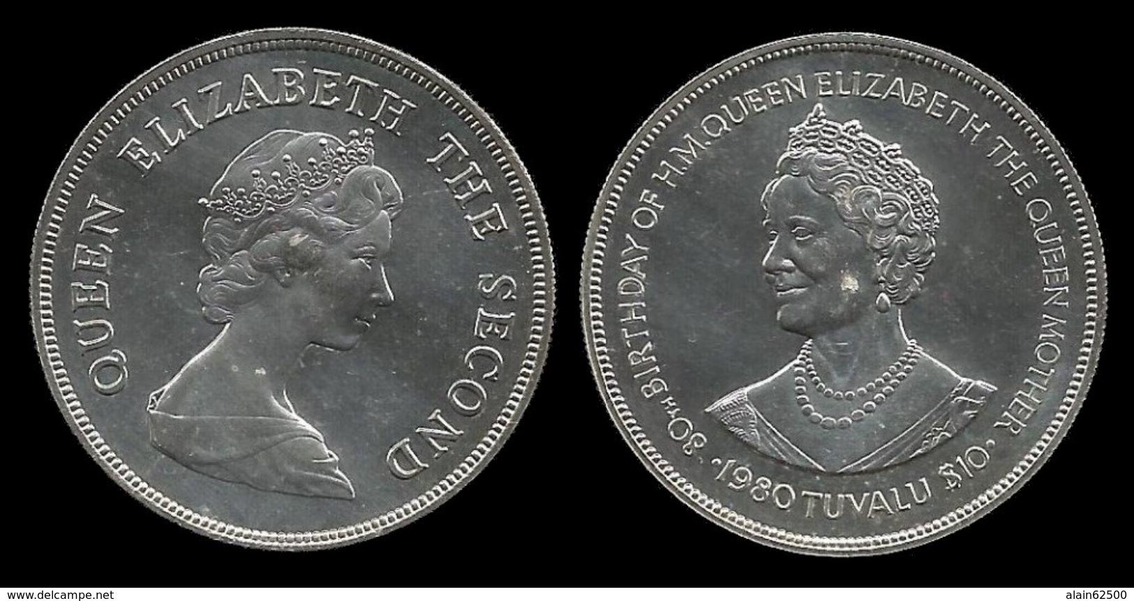 TUVALU . 10 DOLLARS . 1980 . - Tuvalu