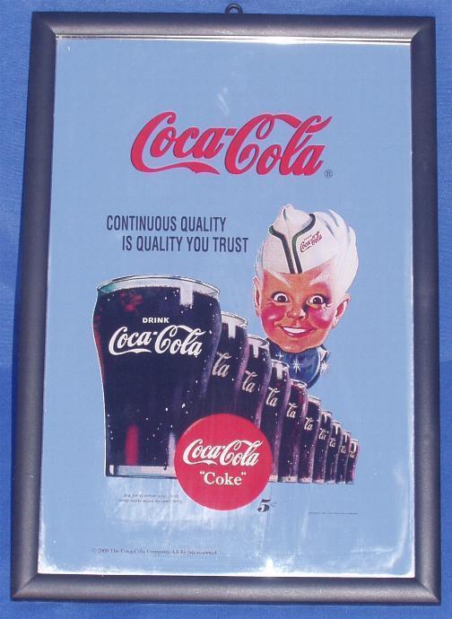 "Miroir ""COCA COLA"" Marin. - Coca-Cola"