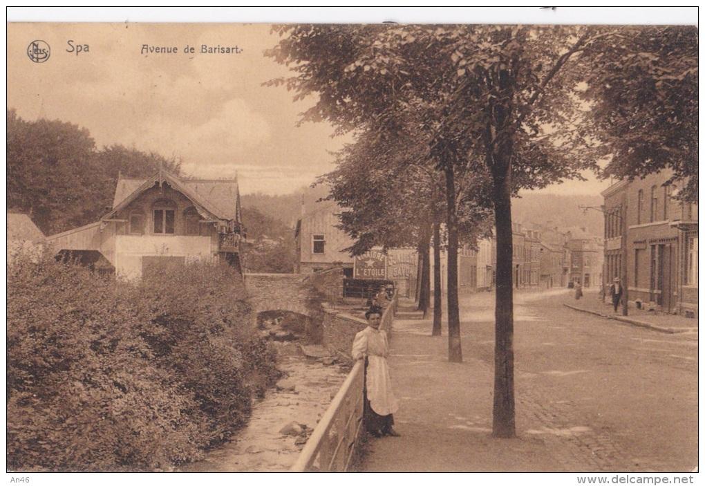 Nels_Bruxelles_Serie Spa No.61. -Avenue De Barisart_ AUTENTICA 100% - Belgio