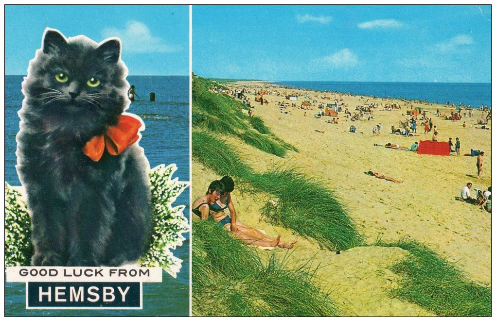 HEMSBY , NORFOLK  - MULTIVIEW -UNPOSTED POSTCARD - Autres