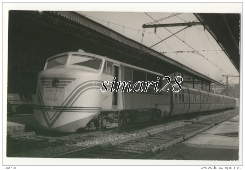 CARTE-PHOTO - TALGO - Stations With Trains