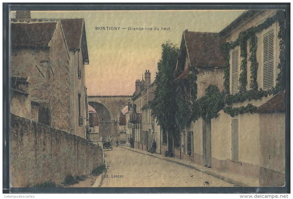 - CPA 78 - Montigny, Grande Rue Du Haut - Montigny Le Bretonneux