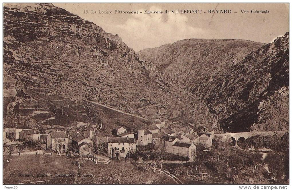 Lozere 48 Environs De Villefort Bayard Vue Générale 2 Scans - Villefort