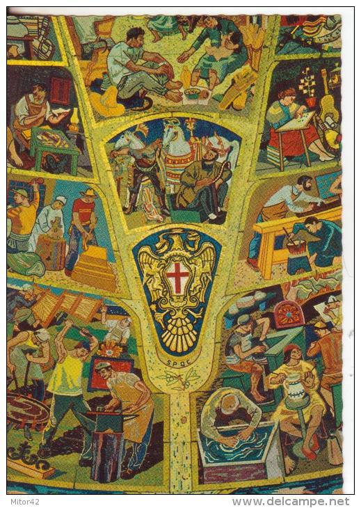 Catania-53-Caltagirone-Sicily-Arte: Mosaici-Art: Mosaics-Art: Mosaïques-Nuova-New-Nouveau - Catania