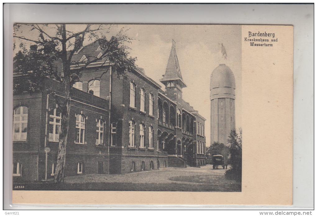 5102 WÜRSELEN - BARDENBERG, Krankenhaus Und Wasserturm - Wuerselen