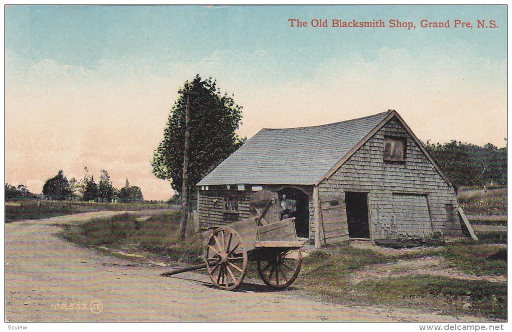 Exterior,  The Old Blacksmith Shop,  Grand Pre,  Nova Scotia,  Canada,  00-10s - Nouvelle-Écosse