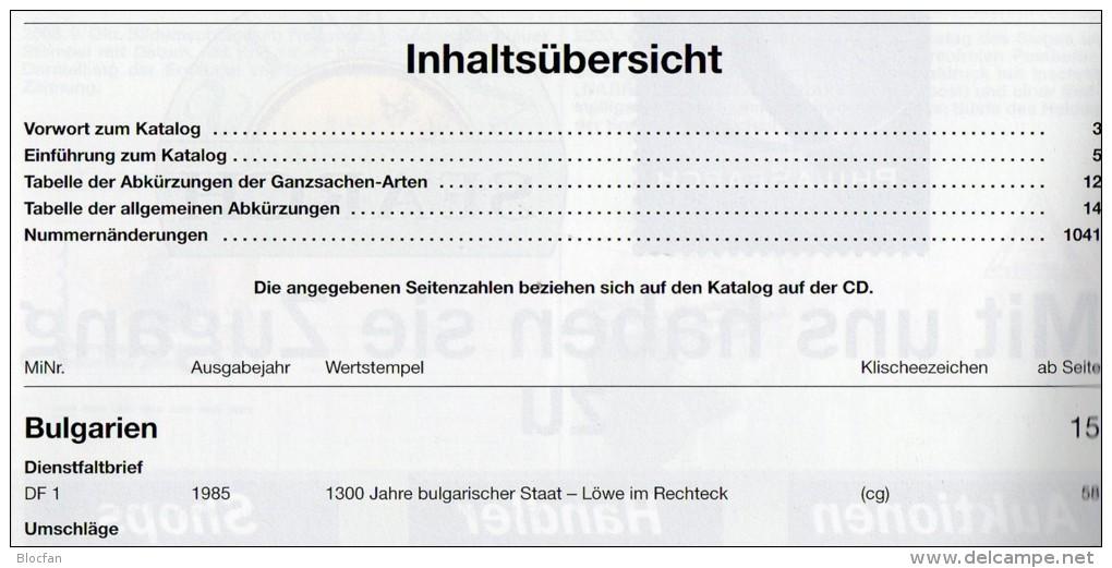 MICHEL Ganzsachen Ost Europa Ab 1960 Katalog 2013 Neu 78€ Mit CD+Neuheiten BG GR Moldawien PL RO RU USSR UA TK BR Zypern - Livres & Logiciels