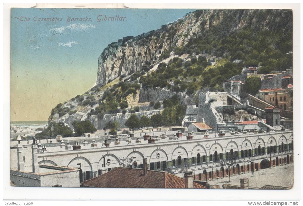 4441-GIBRALTAR-THE CASEMATES BARRACKS-FP - Gibilterra