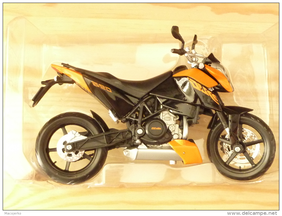 Maisto 31181, KTM 690 Duke, 1:12 - Motos