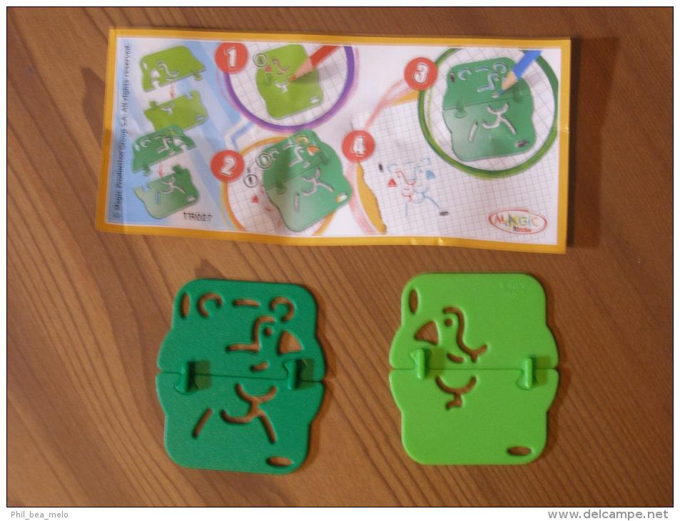 KINDER SURPRISE 2012 MIXART - N°TR027 + BPZ - ETAT COMME NEUF - Kinder & Diddl