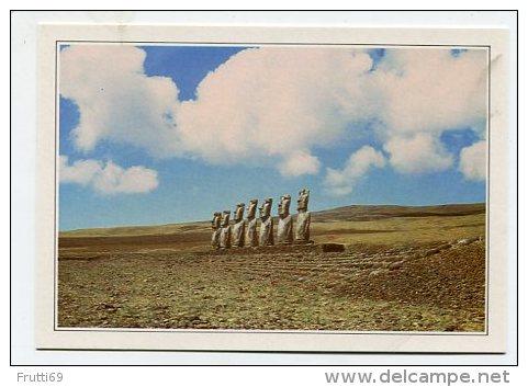 RAPA NUI - AK 159353 Seltsame Steinfiguren - Rapa Nui