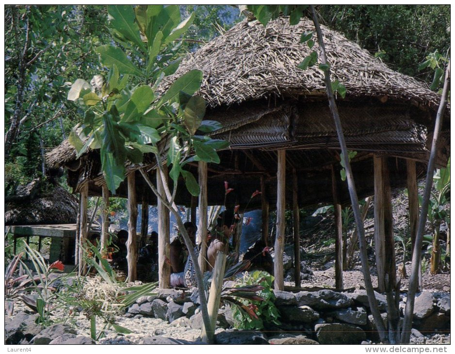 (020) American Samoa Islands - Fale - Samoa Américaine
