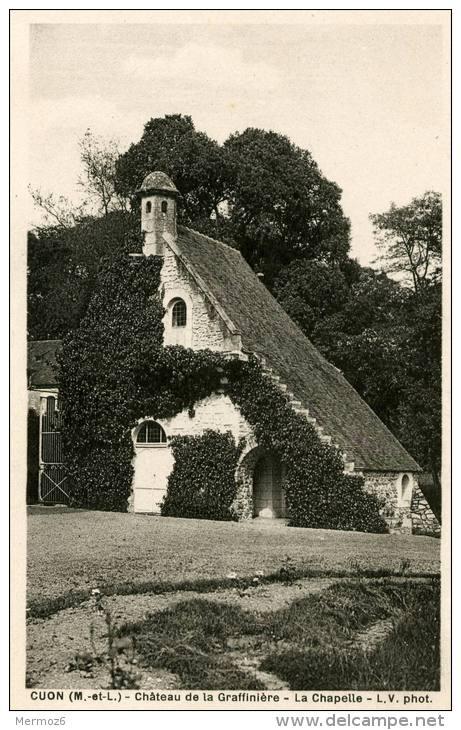 Cuon Chateau De La Graffiniere La Chapelle LV Phot  Maurice Chretien Phototypie - France