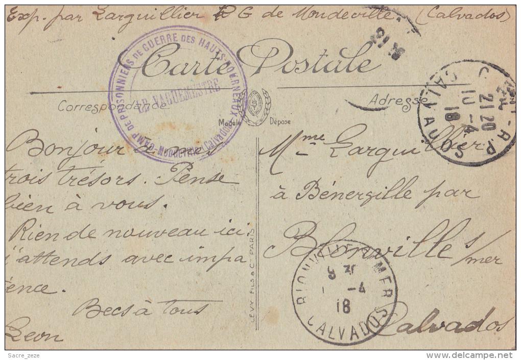 CAEN(14)1918-la Préfecture-LL - Caen