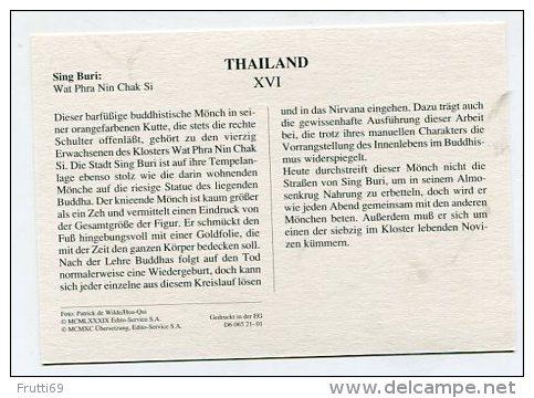 THAILAND - AK 159548 Sing Buri - Wat Phra Nin Chak Si - Thaïland