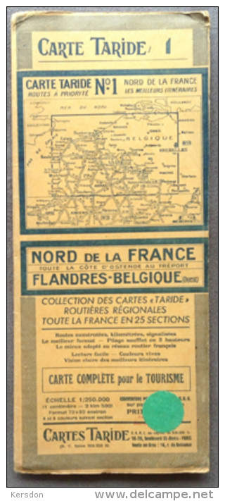 Carte Taride - No1 - Flandres Belgique - Altri