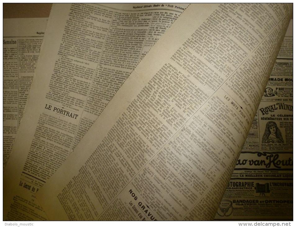 31 Octobre 1897  LE PETIT PARISIEN : Tout Sur L'assassin Monomane Joseph Vacher Le Tueur Désinvolte Qui Tuait Tranquille - Zeitungen