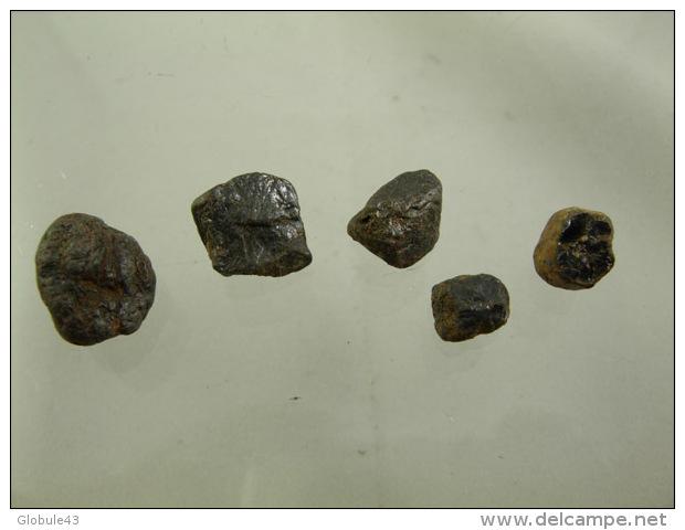 RUTILE (5) DE 6 A 13 MM LAVOUTE CHILHAC - Mineralien