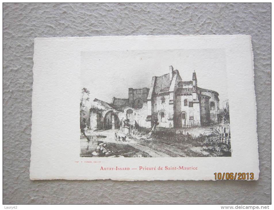 Autry Issard :prieuré De St Maurice - Autres Communes