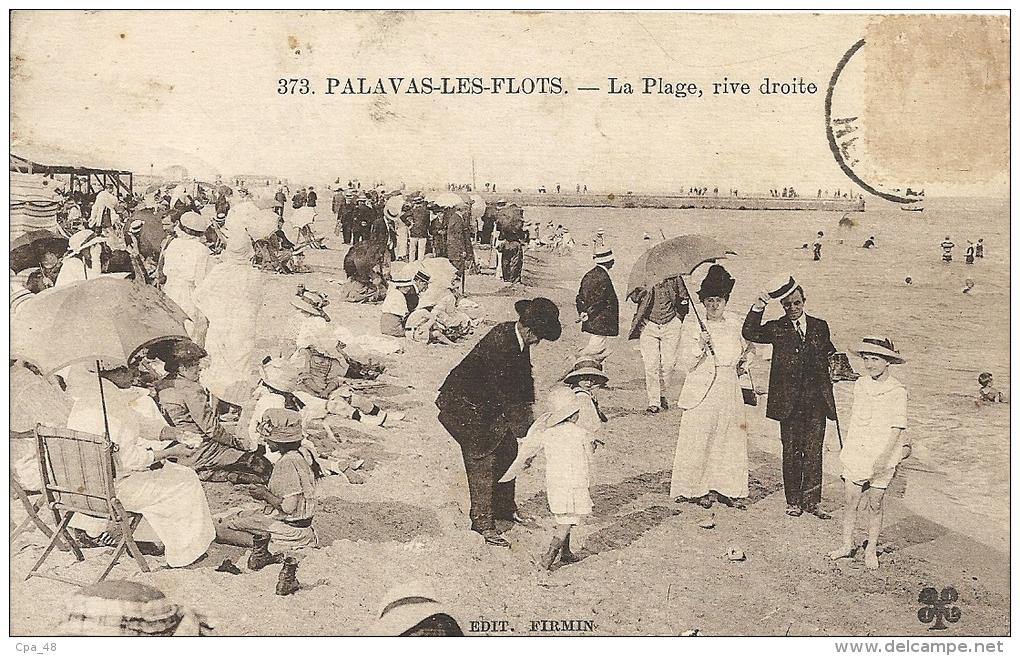 Hérault- Palavas Les Flots -La Plage, Rive Droite. - Palavas Les Flots