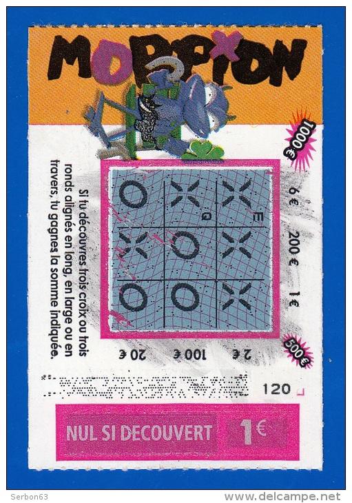 morpion un ticket de grattage gagnant perime loterie fdj emission n 02 du code jeu 431 3033. Black Bedroom Furniture Sets. Home Design Ideas