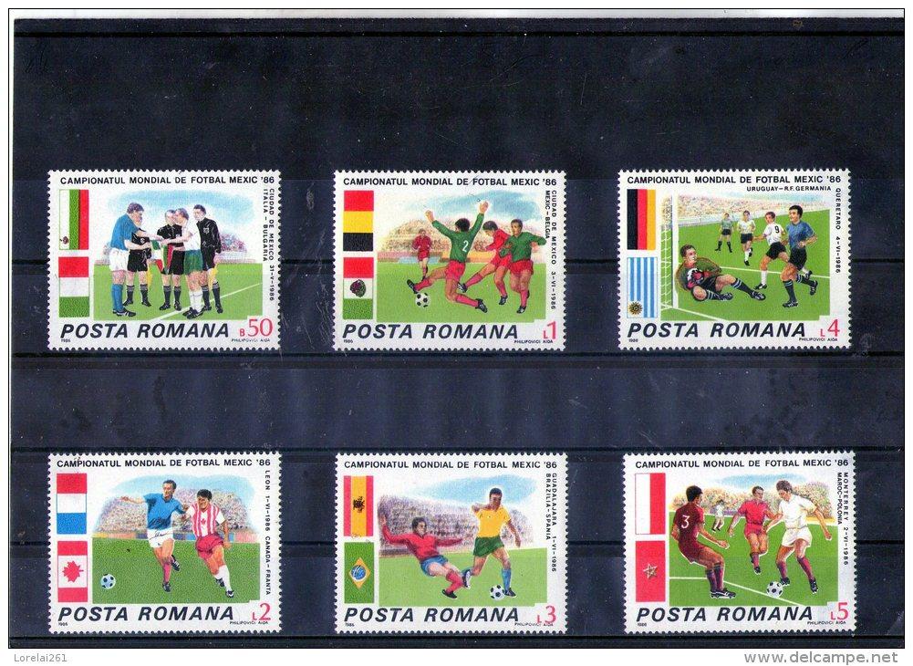 1986 - Coupe Du Monde MEXICO 86  Mi 4260/4265 Et Yv 3671/3675 - 1948-.... Republiken