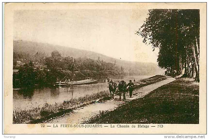 Juin13 1488 : La Ferté-sous-Jouarre  -  Chemin De Halage - La Ferte Sous Jouarre