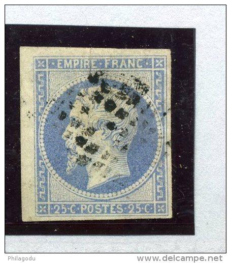 Beau N° 15 Napoleon III     Ø  Cote 285 Euros - 1853-1860 Napoleon III