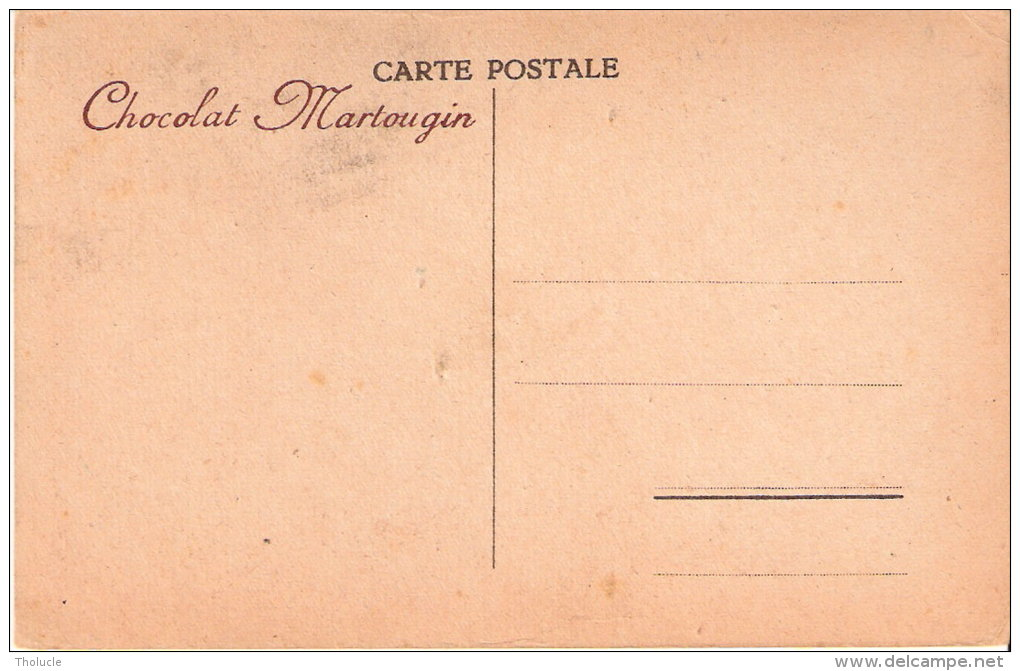 Publicité-Chocolat Martougin-L´Etang-dessin - Werbepostkarten
