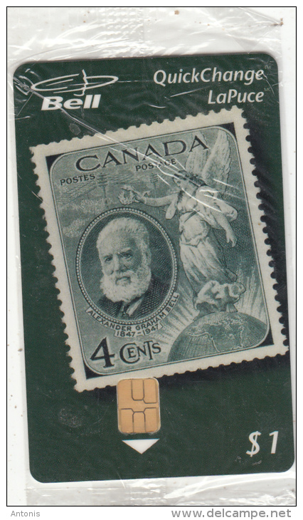 CANADA - Stamp/Alexander Graham Bell, CAPEX(Canadian Pholatelic Exhibition), Tirage 5000, 06/96, Mint - Stamps & Coins