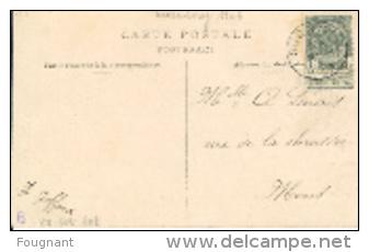 Belgique:MEMBRE(Namur) :Hôtel Henry Filsl.Bon état .Rare.1906.oblit.Sugny. - Hotels & Restaurants