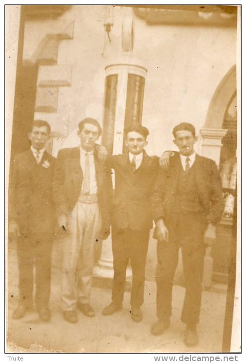 TAUVES CARTE PHOTO EN 1921 - Non Classés