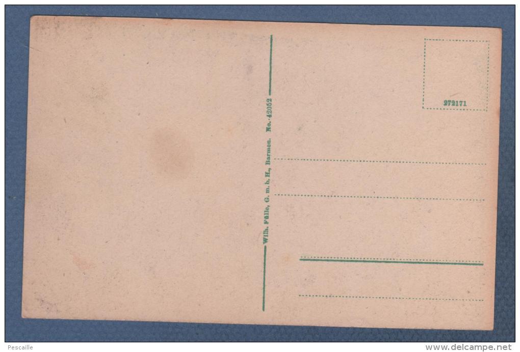RHEINLAND PFALZ - CP ANIMEE COLORISEE WALD Rhld - KAISERSTRASSE - WILH. FÜLLE BARMEN N° 42052 - Altri