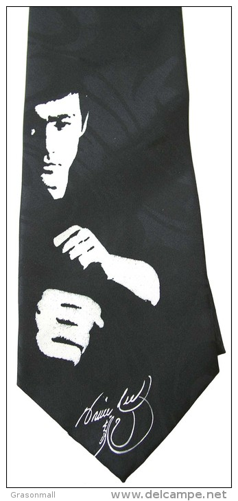 Bruce Lee Super Star Artist Novelty Brand New Neck Tie - Autres Collections