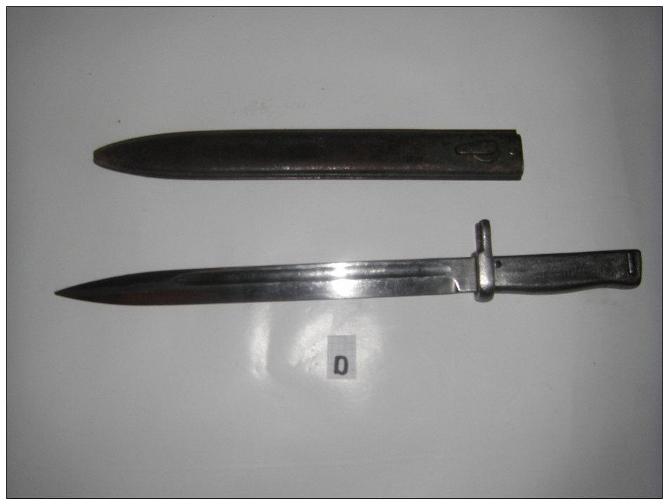Bionnette ERSATZ  N° D - Knives/Swords