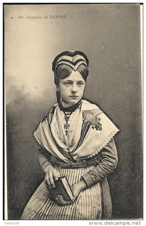 Costume De Savoie -  170 - Non Classés