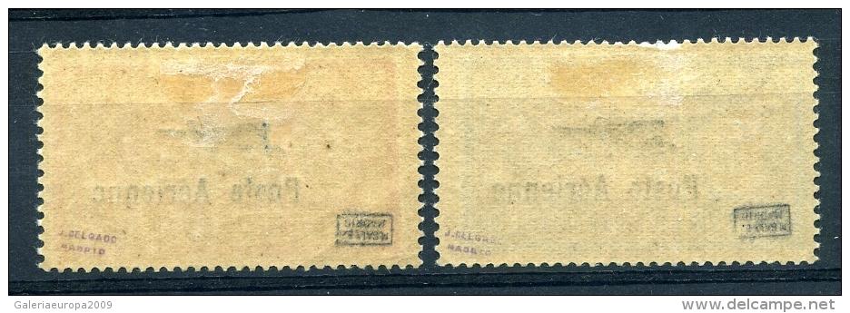 FRANCIA    Ae  Nº 1 / 2     Con  1ª  CHARNELA ( ** )-3 - 1927-1959 Ungebraucht