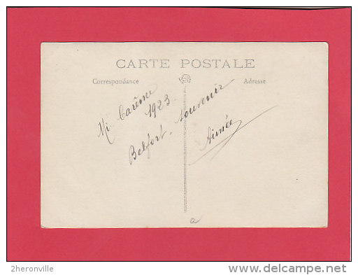 CPA Photo -  90 - BELFORT - Carnaval - Mi-Carême 1923 - Belfort - Ville