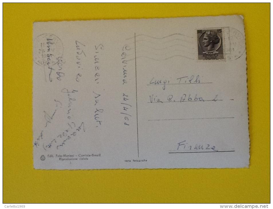 CERVINIA BREUIL M.2050 VIAGGIATA DEL 1961 IN BUONO STATO - Altre Città