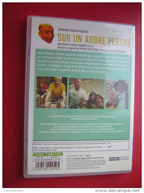 DVD  LA COLLECTION LOUIS DE FUNES  SUR UN ARBRE PERCHE  LOUIS DE FUNES  GERALDINE CHAPLIN UN FILM DE SERGE KORBER - Komedie
