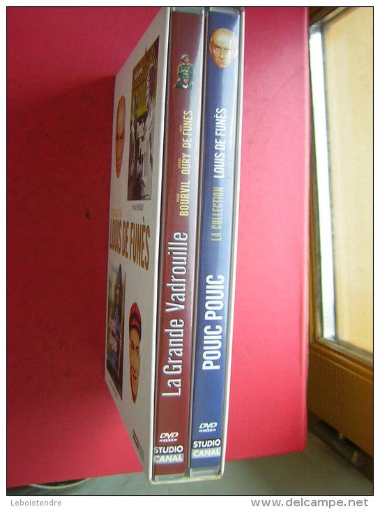 2 DVD   LA COLLECTION   LOUIS DE FUNES    POUIC POUIC   LE PETIT BAIGNEUR - Comedy