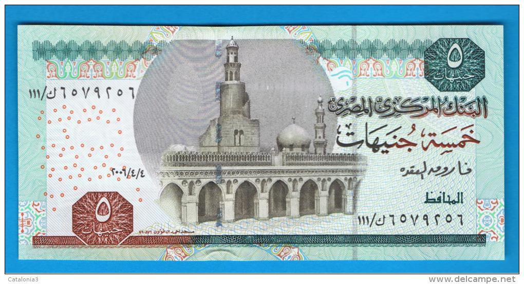 EGIPTO - EGYPT -  5 Pound 2006   P-63 - Egipto