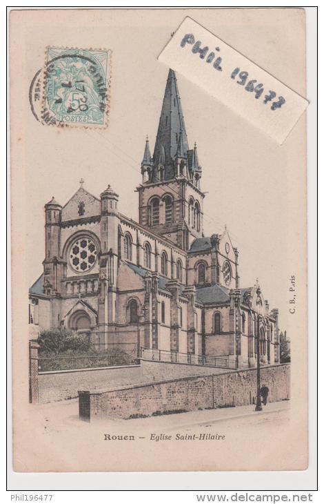 CPA  76 ROUEN / Eglise Saint-Hilaire. - Rouen