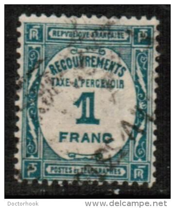 FRANCE    Scott #  J 63  VF USED - Postage Due