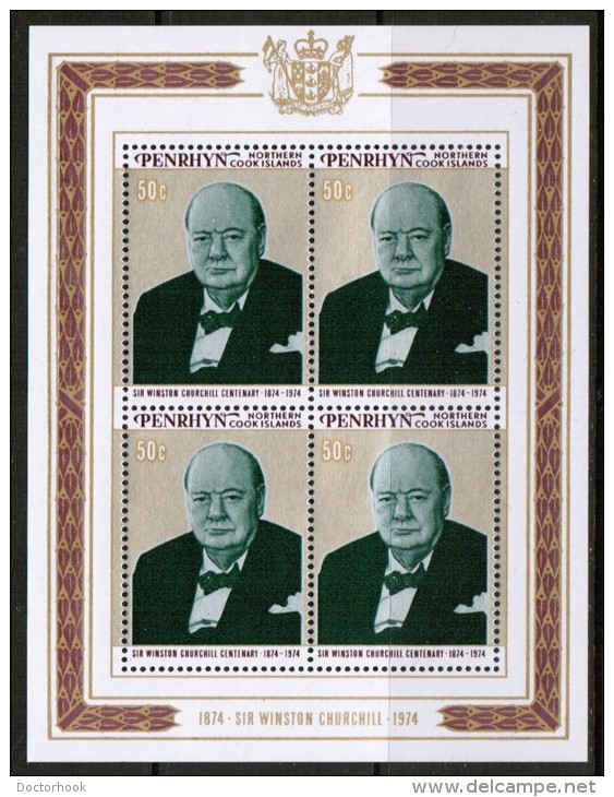 PENRHYN    Scott #  70-1**  VF MINT NH Souvenir Sheet - Penrhyn