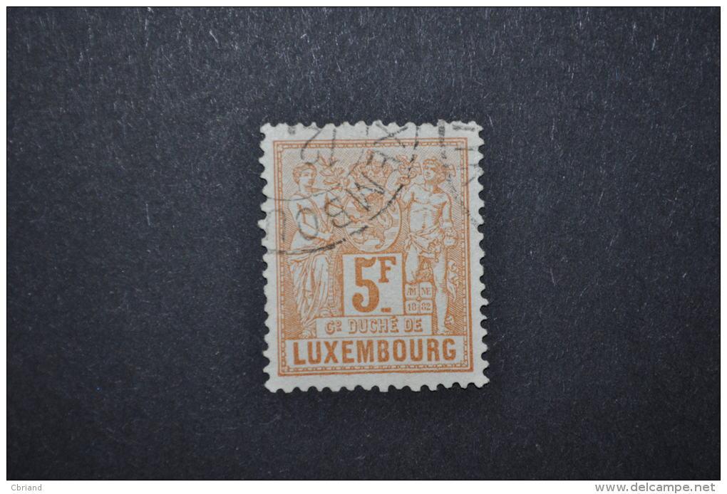 1882-91, No 58 Oblitéré - 1882 Allegorie
