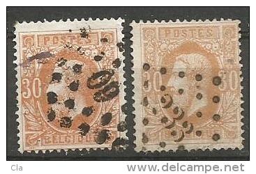 33 + A  Obl  6.75 - 1869-1883 Leopold II