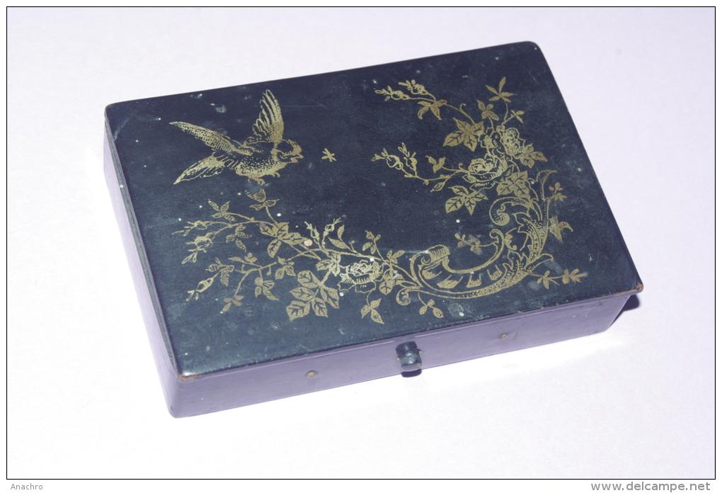 Boite bijoux japonaise for Bureau style japonais