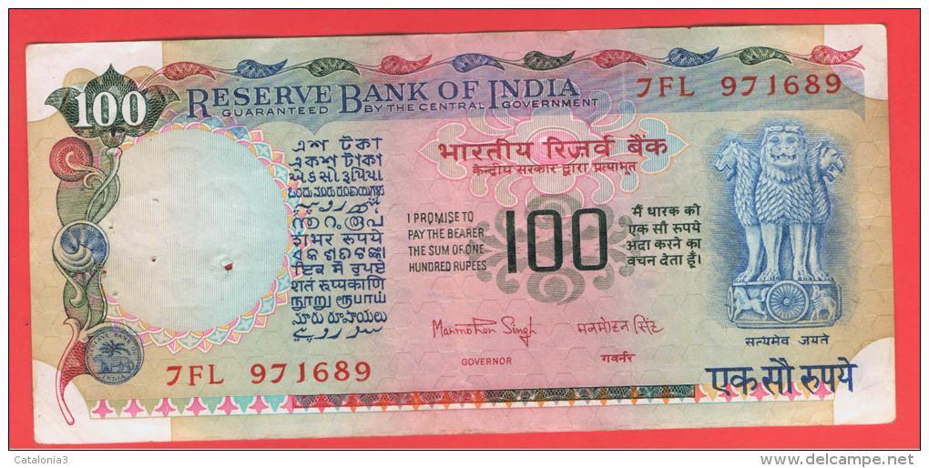 INDIA -100 Rupias ND  P-86  Serie 7FL - India