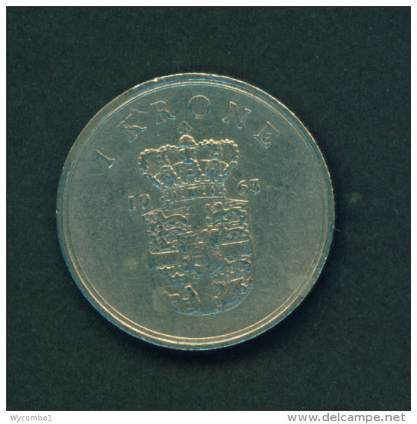 DENMARK - 1963 1k Circ - Denmark